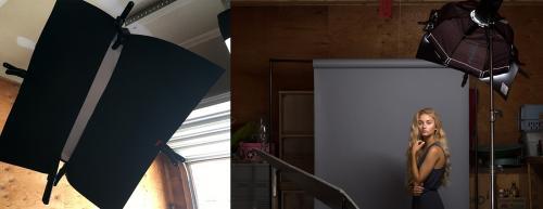 Бьюти съемка с цветами. Схема освещения для бьюти-портретов в самодельной студии