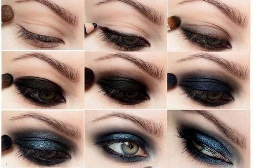Мастер-класс по макияжу. Урок нанесения макияжа для глаз