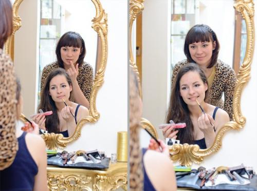 """Курсы по макияжу для себя. Как проходит индивидуальный курс """"Макияж для себя""""? Пример с Ксенией"""