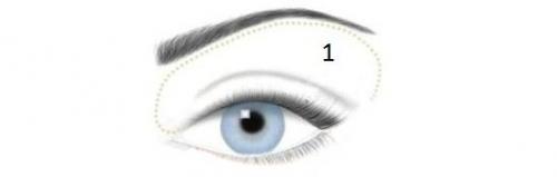 Макияж для голубых глаз пошагово