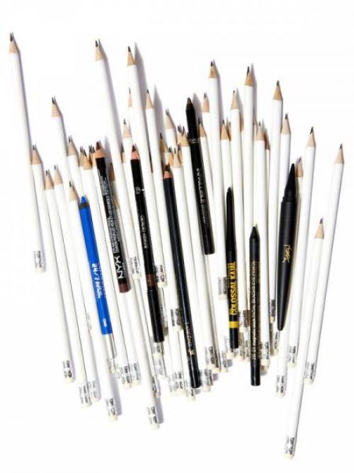 Как нарисовать стрелки на глазах для начинающих карандашом. Как рисовать стрелки на глазах карандашом?