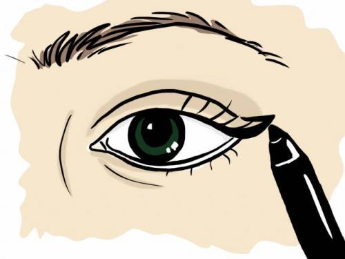 Как нарисовать стрелки карандашом для начинающих. Как рисовать стрелки на глазах карандашом?