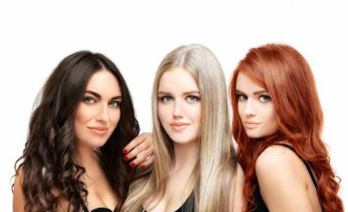 Макияж по цвету волос. Нужно ли менять макияж, меняя цвет волос?