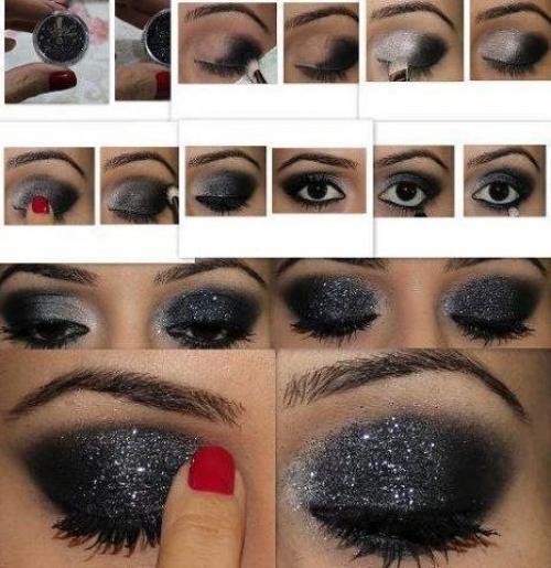 Макияж по цвету черных глаз. Макияж для черных глаз, осваиваем дневной и вечерний make up
