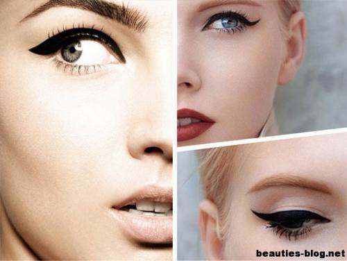 Ретро-макияж 60-х. Превосходный макияж в стиле 60-х годов