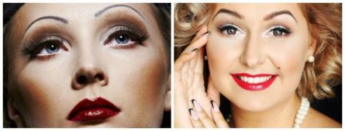 Прически и макияж в стиле ретро. Особенности ретро-стиля
