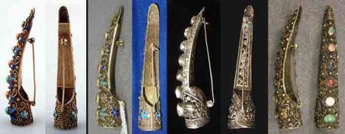 """Ногти в Древнем Китае. Хучжи - """"броня для ногтей"""" из древнего Китая"""