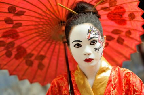 История макияжа в Древнем Китае. История макияжа. Древний Китай и Япония.