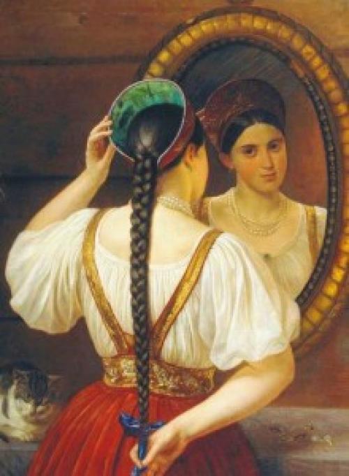 История макияжа в древнем Риме.