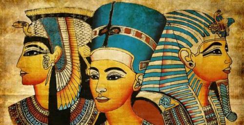 Макияж в Древнем мире. Как женщины делали макияж в прошлом