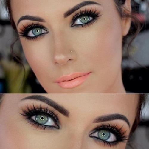Макияж для зеленых глаз 2019. Советы в макияже, которые помогут выделить зеленый цвет глаз