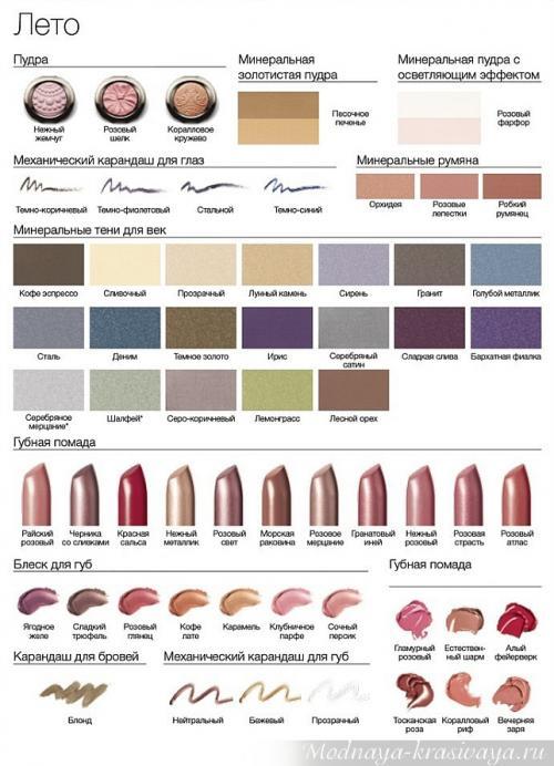 Цветотип контрастное лето макияжи. Правильный макияж и ухоженные волосы делают жизнь прекрасной