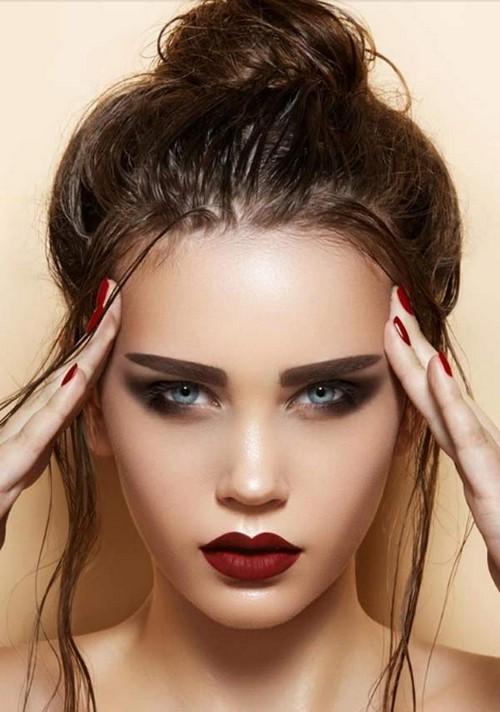 Вечерний макияж глаз пошагово. Каким должен быть красивый вечерний макияж: особенности и пошаговые советы