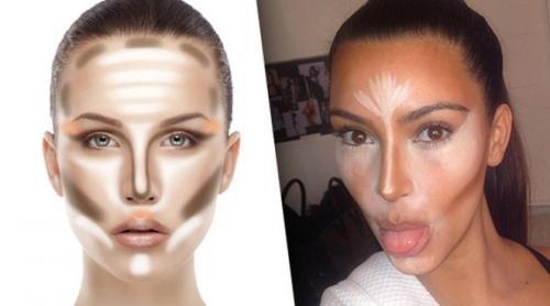 Как с помощью макияжа скорректировать круглое лицо. Коррекция лица макияжем: от общих очертаний и до линии губ