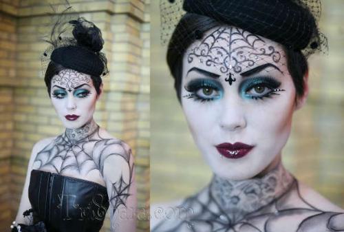 Как сделать макияж ведьмы. Ша.  Делаем эффектный макияж ведьмы