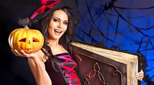 Макияж на Хэллоуин ведьмочки. Чарующий макияж Ведьмы на Хэллоуин