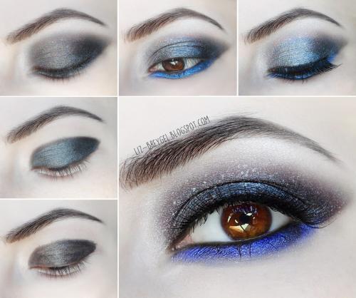 Как нанести макияж смоки айс. Smoky Eyes – пошаговое выполнение дымчатого макияжа