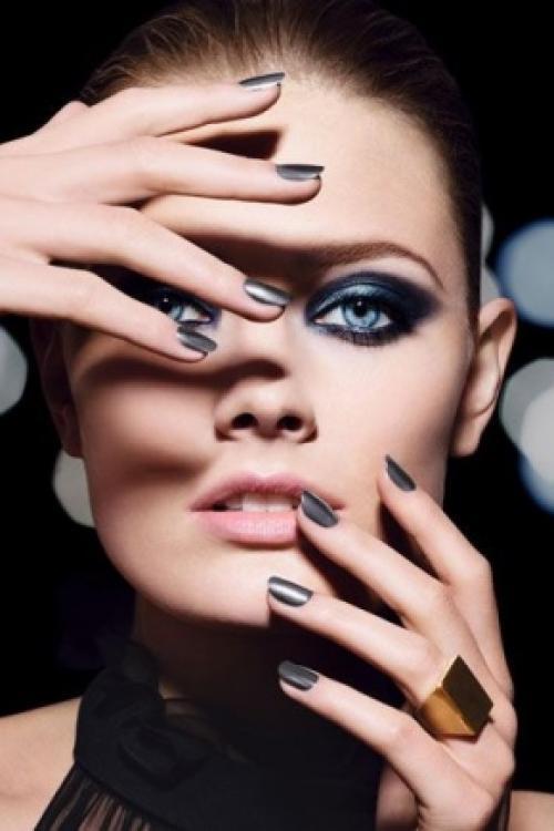 Праздничный макияж для глаз. Праздничный макияж