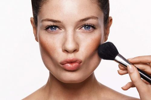 Контур лица коррекция макияж. Правильное контурирование для разных типов лица пошагово