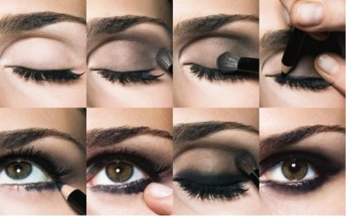 Как накрасить смоки глаза. Особенности техники макияжа «Смоки айс»
