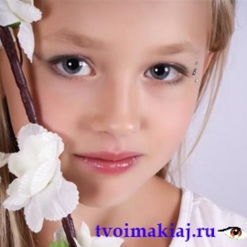 Макияж для 11 лет для девочек. Взрослеющий ребенок и косметика