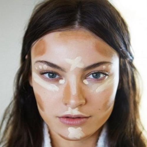 Коррекция лица с помощью макияжа. Коррекция лица макияжем и фото коррекционного макияжа