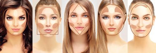 Как подобрать по типу лица макияж. Макияж по типу лица