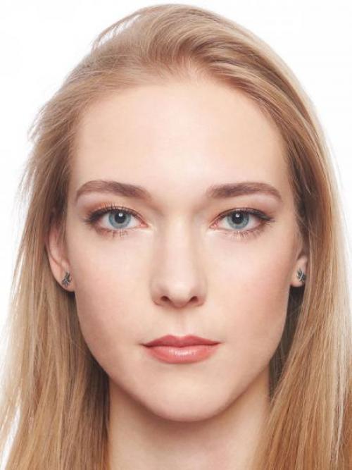 Мейкап для серо-голубых глаз. Макияж для блондинок с голубыми глазами