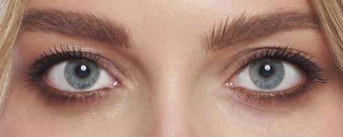 Серые тени серые глаза. фотоинструкция по Вечернему макияжу для серо-голубых глаз