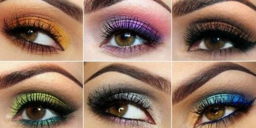 Денний макіяж для карих очей. Какой макияж подходит для карих глаз