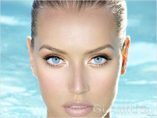 Персиковые тени. Персиковый макияж глаз фото: