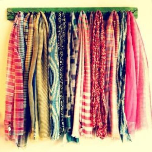 Ткань для шарфа. Из какого материала лучше покупать шарф