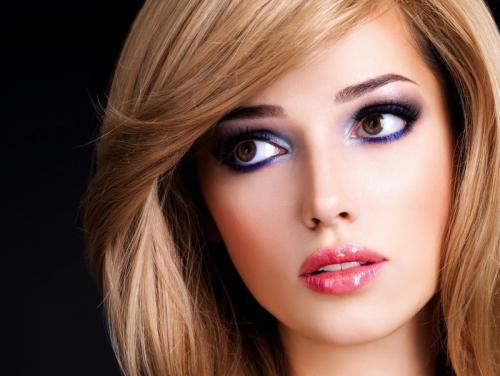 Тени для карих глаз и русых волос. Основные принципы