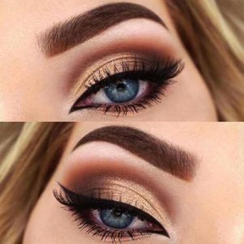 Уроки макияжа для начинающих пошагово для голубых глаз. Как правильно сделать – пошаговая инструкция с фото