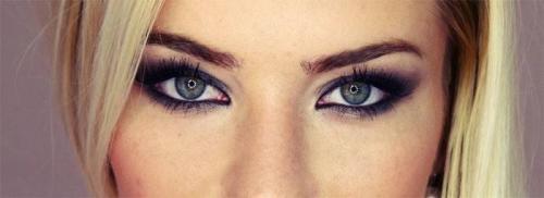Какие тени подходят для серо-голубых глаз. Разнообразие макияжа для серо-голубых глаз