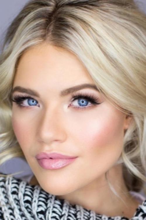 Голубые глаза светлые волосы макияж. Макияж для голубых глаз и светлых волос