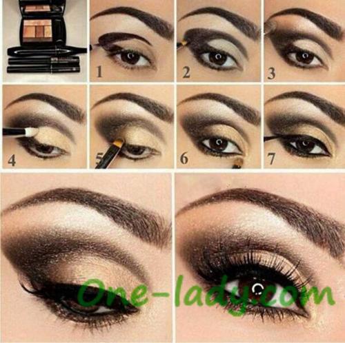Легкий макияж для карих глаз пошагово. Советы визажистов