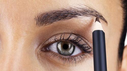 Как покрасить профессионально брови. Как красить карандашом