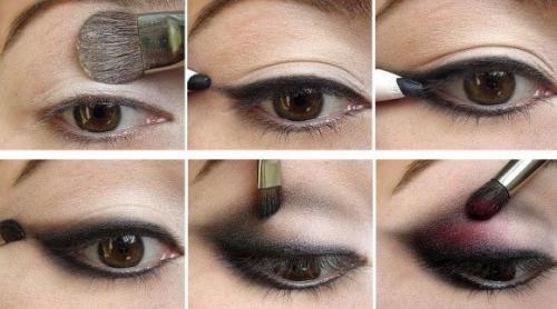 Красивый макияж простой для карих глаз. Как сделать повседневный Smoky eyes для карих глаз пошагово с фото
