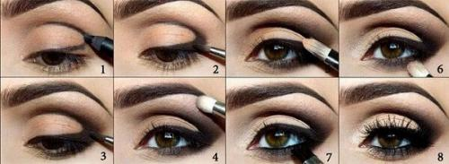 Как накрасить глаза карие. Выбираем тени