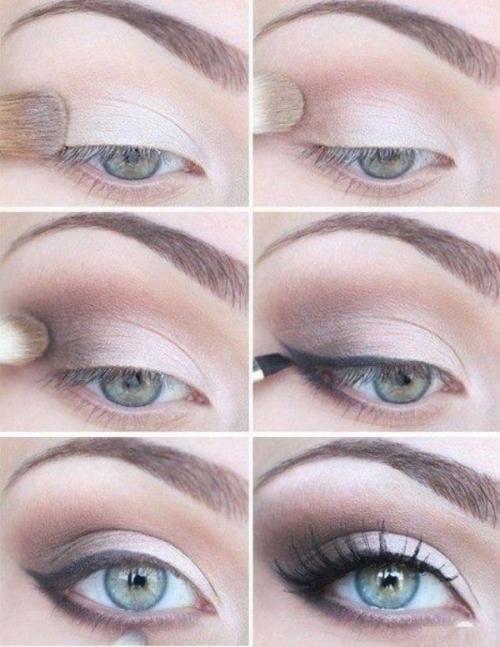 Уроки макияжа для глаз для начинающих в домашних условиях. Прекрасна каждый день