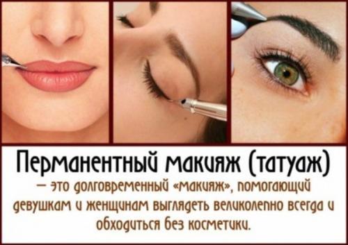 Татуаж стрелки сколько держится. Сколько держится перманентный макияж век – стрелки на глазах