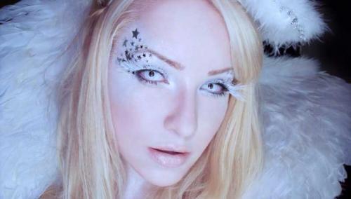 Чем сделать макияж на Хэллоуин в домашних условиях. Макияж «Ангел» на Хэллоуин (+ пошаговая инструкция)