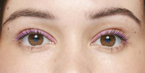 Красные тени для карих глаз. Макияж для светло-карих глаз