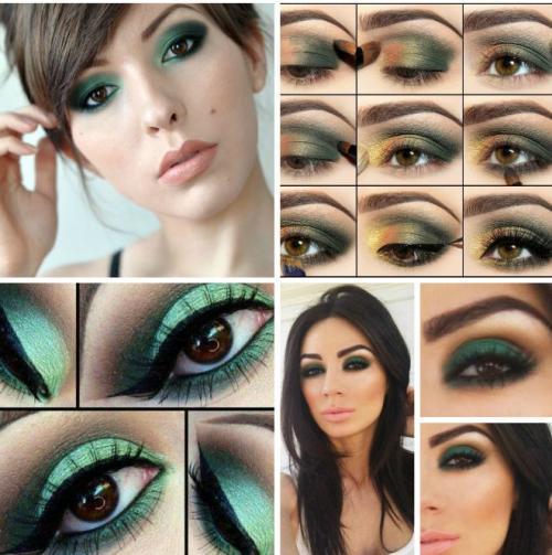 Как подобрать тени для карих глаз по цвету волос