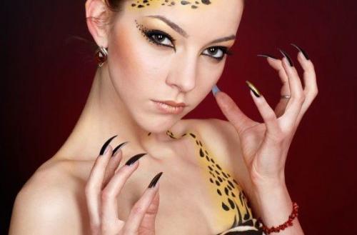 Грим кота. Макияж кошки на Хэллоуин, создаем lady cat make-up