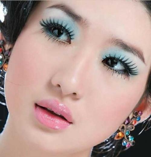 Макияж для азиатских глаз с нависшим веком. Дневное преображение: советы
