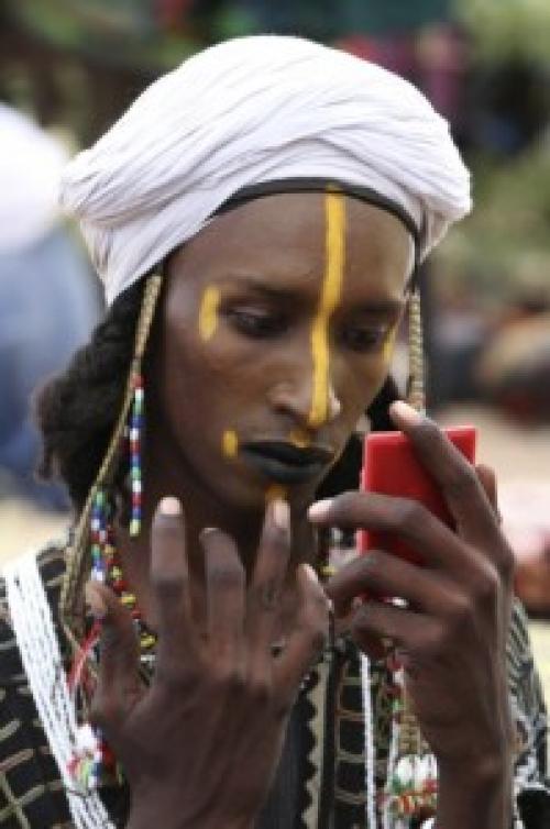 Водаабе женщины. Геревол: фестиваль выбора мужей у племени водаабе