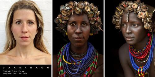 Племя водаабе женщины. Превращения женщины в представительниц разных племен - ФОТО