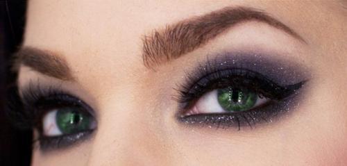Макияж для желто зеленых глаз. Особенности создания визажа